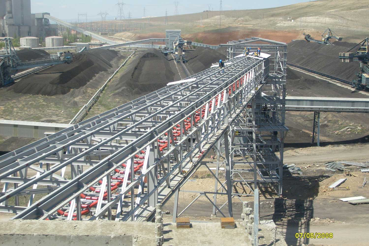 KANGAL THERMAL POWER PLANT  2nd LINE of COAL HANDLING SYSTEM / SİVAS 2008
